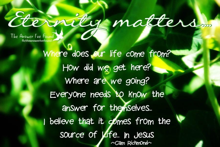 Eternity life